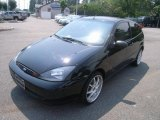 2003 Pitch Black Ford Focus ZX3 Coupe #31851349