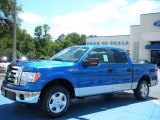 2010 Blue Flame Metallic Ford F150 XLT SuperCrew #31850939