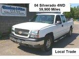 2004 Summit White Chevrolet Silverado 1500 LS Extended Cab 4x4 #31851143