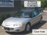 2002 Brilliant Silver Metallic Chrysler Sebring LX Convertible #31851144
