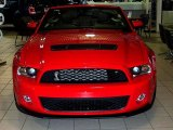 2011 Race Red Ford Mustang Shelby GT500 SVT Performance Package Convertible #31850777