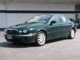 2002 Jaguar X-Type British Racing Green