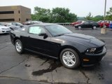 2011 Ebony Black Ford Mustang V6 Coupe #31851023