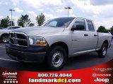2010 Bright Silver Metallic Dodge Ram 1500 ST Quad Cab #31851080