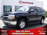 2005 Dark Blue Metallic Chevrolet Tahoe LS #31851086