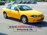 2003 Yellow Chevrolet Cavalier Coupe #31851323