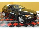 2007 Black Sapphire Metallic BMW 3 Series 328i Sedan #31851337