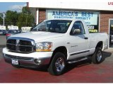 2006 Bright White Dodge Ram 1500 SLT Regular Cab 4x4 #31900388