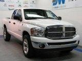 2008 Bright White Dodge Ram 1500 Big Horn Edition Quad Cab 4x4 #31900845