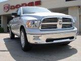 2010 Bright Silver Metallic Dodge Ram 1500 Big Horn Quad Cab #31900854