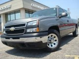 2007 Graystone Metallic Chevrolet Silverado 1500 Classic LS Extended Cab #31900413