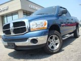 2006 Atlantic Blue Pearl Dodge Ram 1500 SLT Quad Cab 4x4 #31900414