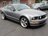 2007 Tungsten Grey Metallic Ford Mustang GT Premium Coupe #31900871