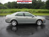 2009 Moss Green Metallic Ford Fusion SEL V6 #31900882
