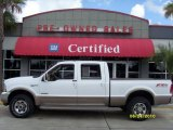 2004 Oxford White Ford F250 Super Duty King Ranch Crew Cab 4x4 #31900439