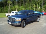 2006 Patriot Blue Pearl Dodge Ram 1500 SLT Quad Cab #31900889