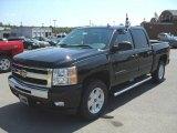 2010 Black Chevrolet Silverado 1500 LT Crew Cab 4x4 #31900931