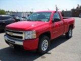 2010 Victory Red Chevrolet Silverado 1500 LS Regular Cab 4x4 #31900933