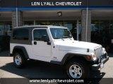 2006 Stone White Jeep Wrangler Unlimited 4x4 #31900491
