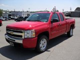 2010 Victory Red Chevrolet Silverado 1500 LT Extended Cab 4x4 #31900936