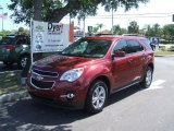 2010 Cardinal Red Metallic Chevrolet Equinox LT #31850911