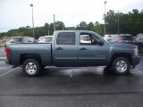 2010 Blue Granite Metallic Chevrolet Silverado 1500 LT Crew Cab #31900757