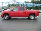 2010 Victory Red Chevrolet Silverado 1500 LT Crew Cab 4x4 #31900975