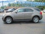 2010 Mocha Steel Metallic Chevrolet Equinox LT #31901004