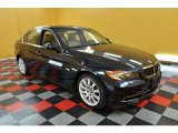 2007 Monaco Blue Metallic BMW 3 Series 335i Sedan #31900824