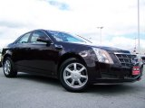2009 Black Cherry Cadillac CTS Sedan #31900372