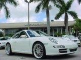 2007 Carrara White Porsche 911 Carrera Coupe #31963698