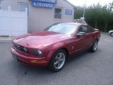 2006 Redfire Metallic Ford Mustang V6 Deluxe Coupe #31964329