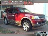2003 Redfire Metallic Ford Explorer Eddie Bauer 4x4 #31964341