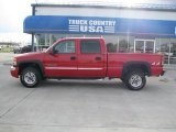2006 Fire Red GMC Sierra 2500HD SLE Crew Cab 4x4 #31964373