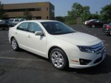2010 White Suede Ford Fusion SE #31963969