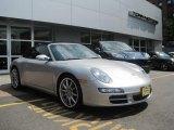 2008 Arctic Silver Metallic Porsche 911 Carrera S Cabriolet #31964380