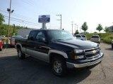 2006 Black Chevrolet Silverado 1500 LS Extended Cab 4x4 #31963976