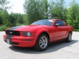 2005 Torch Red Ford Mustang V6 Premium Coupe #31964410