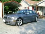 2004 Silver Grey Metallic BMW 3 Series 325i Coupe #31964055