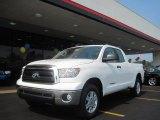 2010 Super White Toyota Tundra Double Cab 4x4 #31964233
