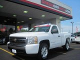 2008 Summit White Chevrolet Silverado 1500 LT Regular Cab 4x4 #31964237