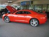 2010 Inferno Orange Metallic Chevrolet Camaro SS/RS Coupe #31964480