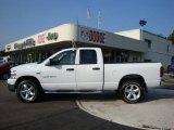 2007 Bright White Dodge Ram 1500 ST Quad Cab 4x4 #31964269