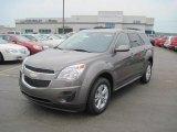 2010 Mocha Steel Metallic Chevrolet Equinox LT #31964279