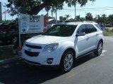 2010 Summit White Chevrolet Equinox LTZ #31963881