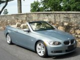 2007 Arctic Metallic BMW 3 Series 335i Convertible #32025337