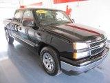 2007 Black Chevrolet Silverado 1500 Classic LS Crew Cab #32025246