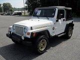 2006 Stone White Jeep Wrangler Sport 4x4 #32025596