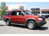 2000 Toreador Red Metallic Ford Explorer XLS 4x4 #32025256