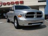 2010 Bright Silver Metallic Dodge Ram 1500 SLT Quad Cab #32025540